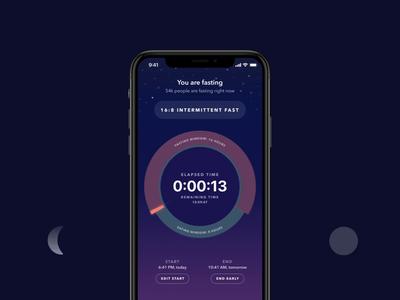 Zero Fasting App v2: Day & Night