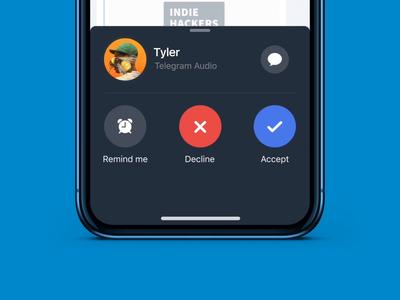 Telegram Voice Calling
