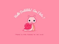 Hello Dribbble Sara