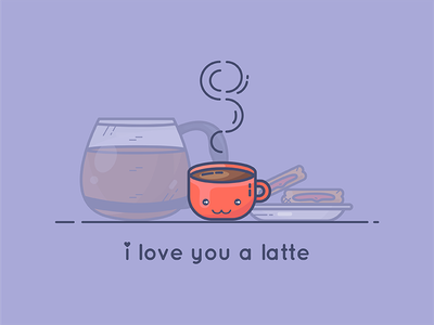 Perfect Breakfast red caffe cute food love breakfast toast coffee cup latte