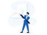 Invoice Illustration