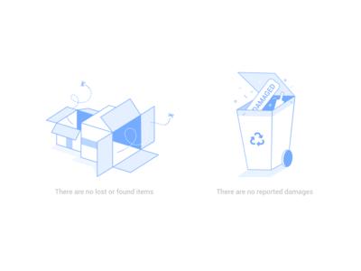 Dashboard Housekeeping Illustrations