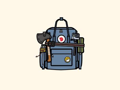 My backpack - kanken
