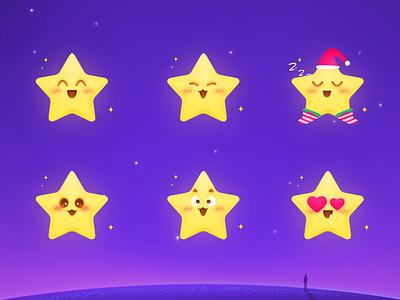 XIAO XINGYUAN IP_ANT STARS illustration ui ux design