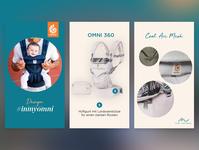 instagram stories for ergobaby digital marketing instagram stories socialmedia