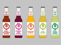 """""""Hand zu Hand"""" logo & bottle design"""