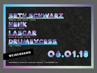 Flyer for a Techno Event in Hannover/Germany