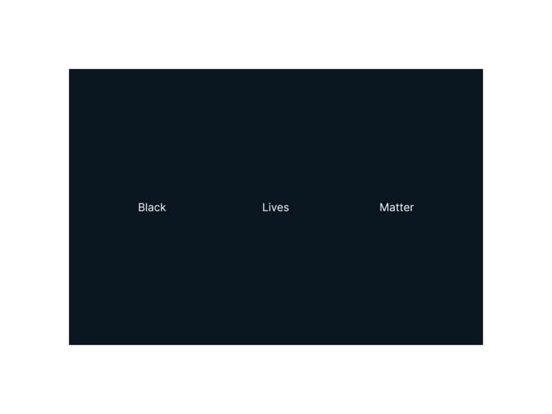 Black Lives Matter illustration typography art direction uiux ui layout branding design