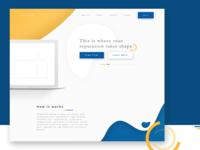 Reputate -  Landing Page