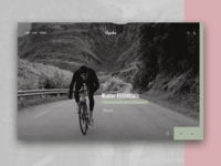 Rapha  – Above the Fold Redesign