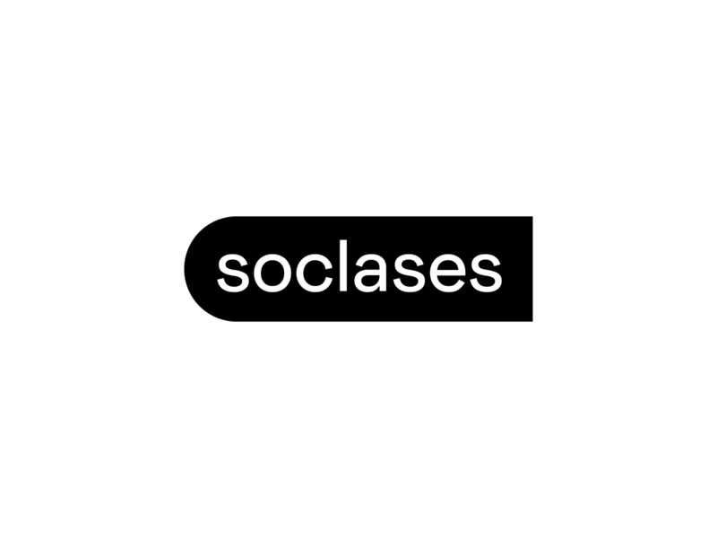 soclases logo book concept flat modern clean simple wordmark typography typeface logo logomark icon intelligence creative minimal symbol design logotype brand branding identity tutorial student startup online digital platform courses learn school education study knowledge