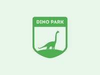 Daily logo challenge 35/50 - Dinosaur Amusement Park
