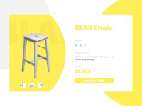 BLAX Chair product page