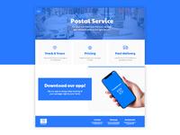 Postal service website