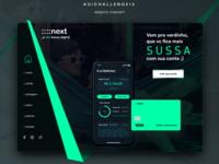 Redesign Website Next Bank + Sketch File