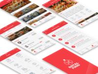 App Royal Food - UI Design