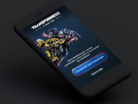 App Transformers A Sua Voz - UI Design