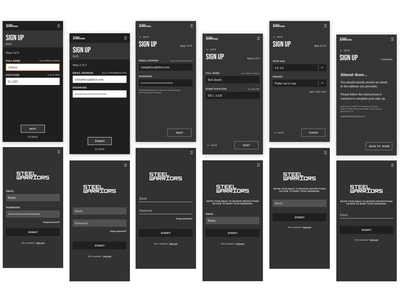 A week of ideation and rapid prototyping app ux ui