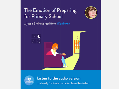 Parenting Article Mockup article parenting listen audio
