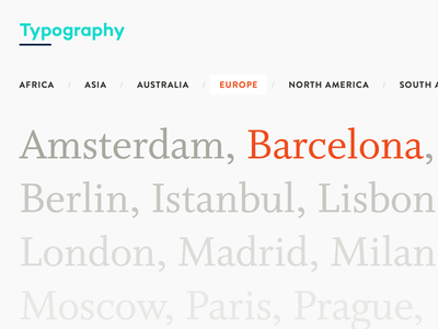 Case Study: Typography