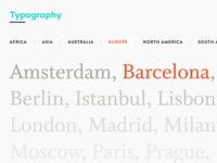 Case Study: Typography