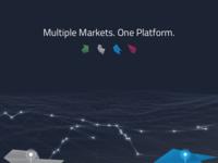 Platform. Terrain. Markets. Symbols.