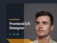 Placeholder Portfolio typography icons photo portfolio