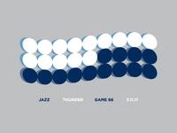 Jazz Scores: Game 66 - 3.11.17