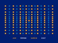 Jazz Scores: Game 68 - 3.15.17
