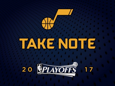 Jazz Scores: 2017 Playoffs nba playoffs basketball utah jazz sports stats data design illustration visualization