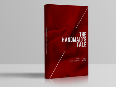 The Handmaid's Tale Book Cover book covers book cover mockup book cover book photoshop mock-ups mock ups mockups mock-up mock up mockup illustration typography illustrator graphic design design adobe