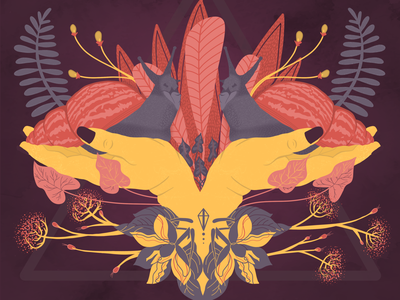 Achatina Fulica flora and fauna snails illustration digital design illustration art nature animals illustration