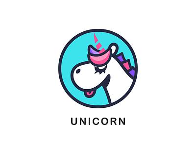 Unicorn icon monk app ui logo