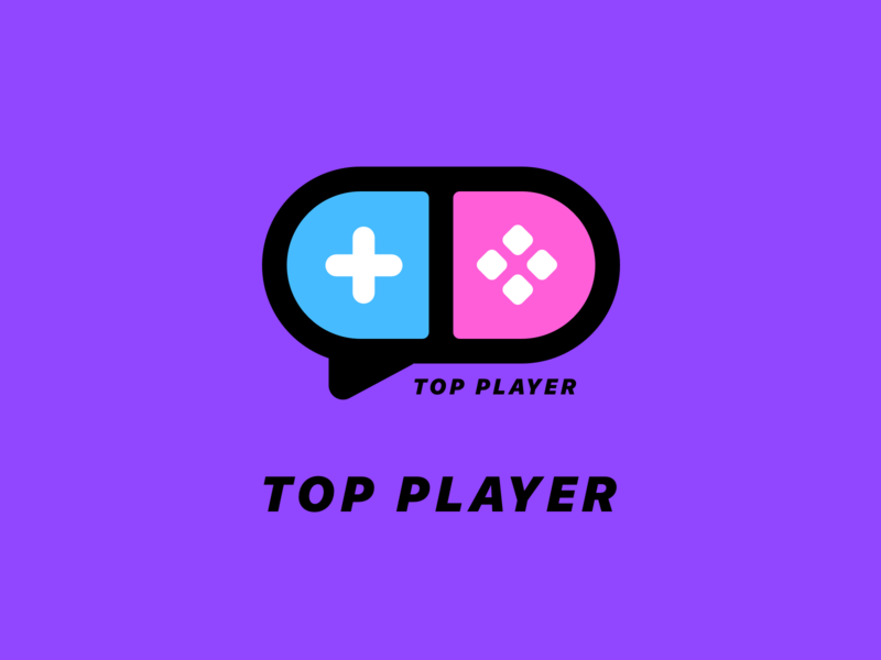 TOP PLAYER icon ui logo app monk