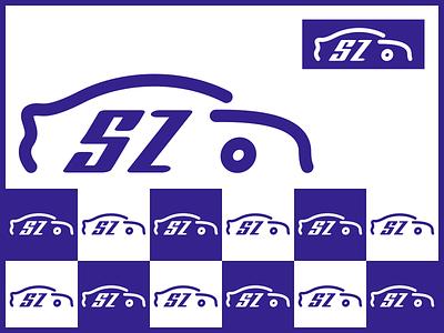 盛中汽车教育科技有限公司 monk monk.ren car logo branding
