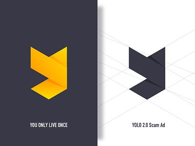 YOLO 2.0 Scam Ad 1 0.5x monk logo,icon,yolo,app