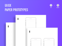 Paper prototypes to upgrade
