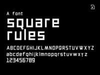 Square rules「方矩」