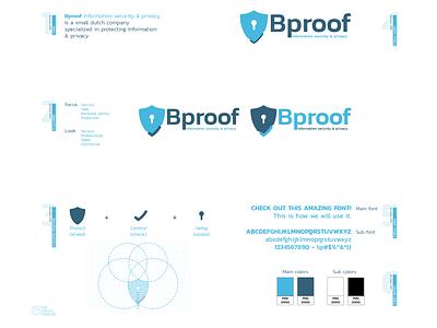 Bproof logo presentation branding design brand identity brand design branding less is more vector design presentation design presentation blue shield typedesign type logo design logodesign logotype logos logo