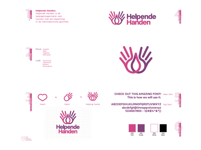 Helpende handen Branding hands hand icon design icon type logo design logodesign logotype logos logo vector design branding and identity branding concept branding agency branding design brand identity brand design brand branding