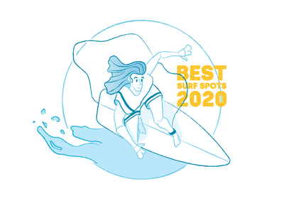 Let's Surf! creative artwork drawing water blue surfing surf craft linework line art lineart lines line illustration art iilustration illustrations illustration illustraion illustrator