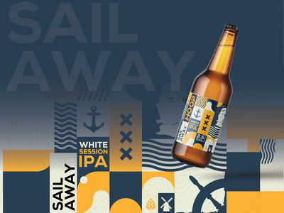 Sail beer boats sailor illustration art illustrator creative illustration less is more abstract design abstract art abstract packaging design package design packagedesign packaging package boat sailboat sail