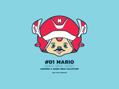 Chopper X Mario