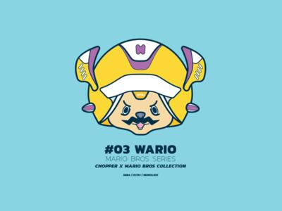 Chopper x Mario > Wario