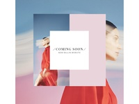 Coming Soon visual website coming soon online boutique online store store ecommerce fashion
