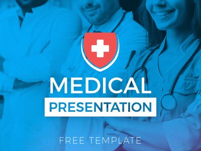 Medical Corporate Slideshow - Free AE Template design healthcare health hospital medical free corporate branding 2d animation simple motion animation after effects