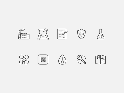 Luz Icons icon outline icons laporoscopy factory repair healthcare lab box medicine medical