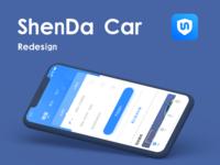 ShenDa car UI redesign