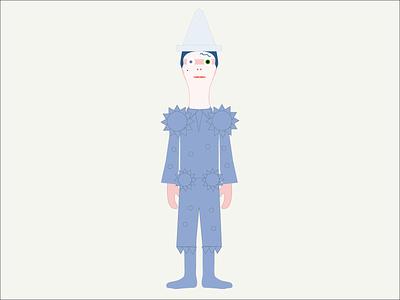 Pierrot bluemix watson pantone svg bowie