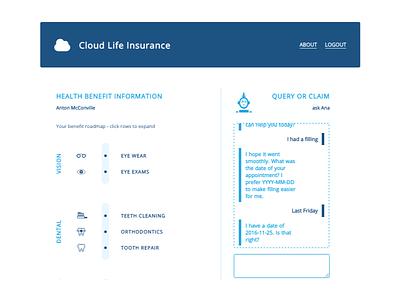 Insurance Chatbot chatbot insurance